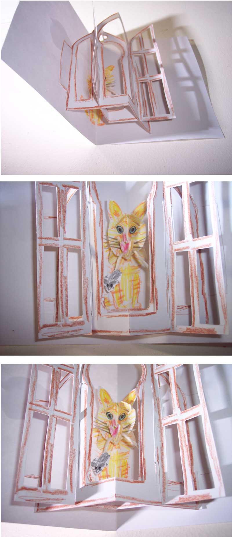 kitty pop-up card 7,8,9