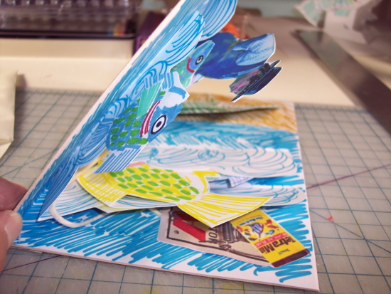 fisherman pop-up card 9