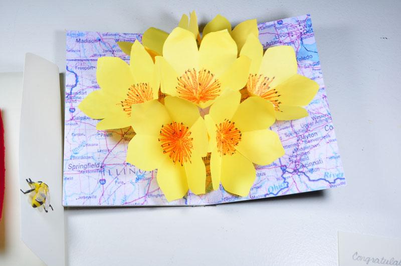 Цветы открытка своими руками